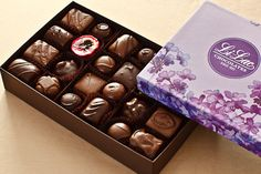 Discover New York's best gourmet chocolate gift boxes, chocolate baskets, and assortments from Li-Lac Chocolates. Place your order for a premium chocolate box! Chocolate Cream, Chocolate Fudge, Chocolate Covered, Chocolate Basket, Chocolate Gift Boxes, Marzipan, Truffles, Maple Walnut, Handmade