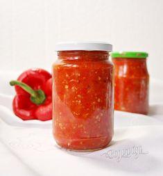 Zavarany pikant Chili Pasta, Food Club, Chutney, Pesto, Food To Make, Food And Drink, Cooking Recipes, Homemade, Meals