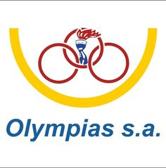 Olympias s.a. trade mark  40 years of International transport between three continents (Europe, Asia and Africa ) this explains the three circles .