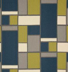 Great Color Block of Navy, Olive & Gray.   (HOPSCOTCH FELIX)