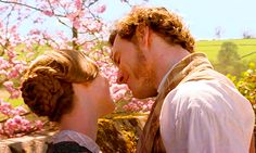 Jane Eyre - Mia Wasikowska as Jane Eyre & Michael Fassbender as Edward Rochester Jane Eyre Movie, Jane Austen, Jane Eyre 2011, Mia Wasikowska, Romance, Charlotte Bronte, Classic Literature, Human Emotions, Before Us