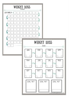 weight loss tracker printable weight loss tracker weight loss