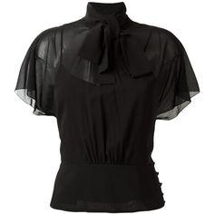 d28abf6ff940 7 Best Black Sheer Blouse images