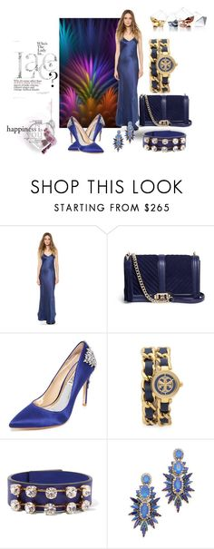 """Blue: The Trend Setter!!"" by stylediva20 on Polyvore featuring Becca Stadtlander, Nili Lotan, Rebecca Minkoff, Badgley Mischka, Tory Burch, Marni, Elizabeth Cole and Hostess"