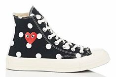 Cdg Converse, Converse All Star, Sneakers Shoes, High Top Sneakers, Converse Chuck Taylor, Comme Des Garcons Play, Sports Shoes, Chuck Taylors, Me Too Shoes