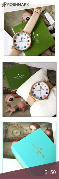 ✨LOWEST✨Kate Spade Rose Gold-Tone Metro Dot Watch ✨Kate Spade Rose Gold-Tone Metro Dot Watch✨Awesome Kate Spade Rose Gold Watch With Box And Instructions✨34mm Round Diameter Face With Quartz Movement✨Blush/Tan Leather Band✨Perfect Watch For Everyday Casual Wear Or Business✨Sold Out Style✨Includes Box And Instruction Book✨Watch Runs Perfectly And Is Currently Running✨Would Make A Wonderful Gift✨NWT✨PRICE FIRM✨ kate spade Accessories Watches