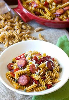 How To Make Pasta Recipes : Sausage and Peppers Pasta