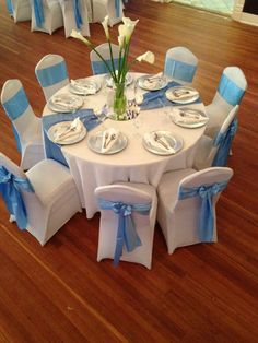 scuba blue wedding decor - Google Search