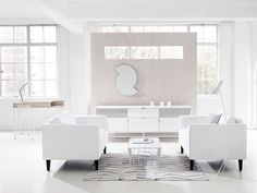 Blu Dot Scamp White and Marble Tables | Coffee Tables | Furniture | Heal's