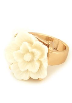 Cocktail Flower Ring | Mod Retro Vintage Rings | ModCloth.com