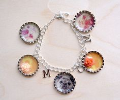 Make a photo charm bracelet using Mod Podge Dimensional Magic