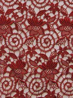Coloured Guipure Lace - Eva