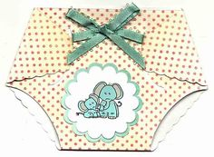 Diaper Paper Card Template | Cheryl Ann First Expressions: Inspiration Team Challenge 09/24 & a ...