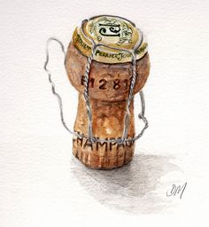 EDiM # 13 champagne cork by debra morris, via Flickr