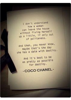 Coco Chanel #destiny#
