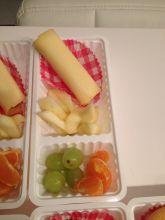 Gezond patatje hotdog
