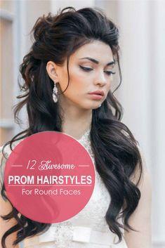 On The Prom Night In Cabello Mediano Peinados Para Vestidos Peinados