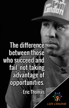 """The difference between those who succeed and fail: not taking advantage of opportunities. Et Quotes, Team Motivational Quotes, Wise Quotes, Success Quotes, Quotes To Live By, Inspirational Quotes, Quotes By Famous People, People Quotes, New Opportunity Quotes"