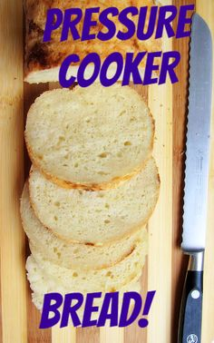 Pressure Cooker Bread now with gluten-free version! - Pressure Cooker - Ideas of Pressure Cooker Farberware Pressure Cooker, Hip Pressure Cooking, Power Pressure Cooker, Instant Pot Pressure Cooker, Pressure Cooker Recipes, Pressure King, Pots, Cooking Recipes, Bread Recipes