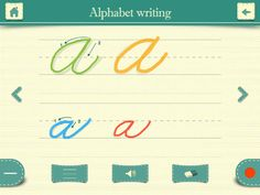 Cursive Writing HD - free for just a few days - get it now. Learn Handwriting, Handwriting Analysis, Cursive Handwriting, Teaching Cursive, Alphabet Writing, Classroom Tools, Letter Formation, Handwritten Letters, Learning To Write