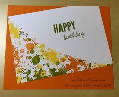 Geburtstagskarte - Gorgeous Grunge