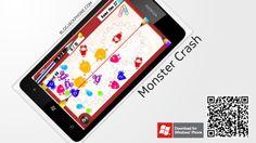Monster Crash for Windows Phone - free logic game with destruction. By JOJO Mobile.