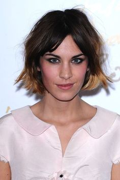 Tousled bobs, ombre waves and choppy cuts - see Alexa Chung's hair history