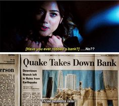 Skye to Daisy to Quake Three seasons later . I can't wait to see if they make a season 4.