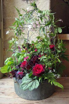 Atelier de création florale Frédéric Garrigues, styliste de fleurs