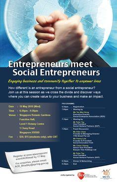 ACE social entrepreneurship - find great community builders at urbansocialentrepreneur.com