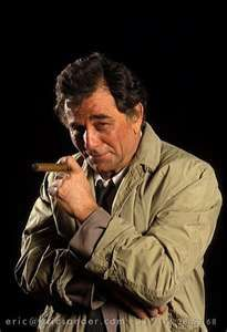 I used to love watching Columbo.  My nerd is showing.