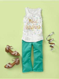 Something cute and girlie that my daughter may actually wear.