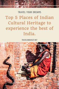 """Places of Indian cultural heritage? Today, we bring you the best of India. India is a country supported by such rich cultures that are distinct in language, dressing, and everyday activities. """"Unity in diversity"""" – these are not just words, but something that is highly applicable to a country like India which is incredibly rich in culture and heritage.   #india, #travelindia, #indiaculture, #exploreindia Hindustani Classical Music, Saint Philomena, Ajanta Caves, Bodh Gaya, Jantar Mantar, Pearl City, Gangtok, Unity In Diversity, Cultural Capital"""