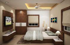 Bedroom Bed Design, Bedroom Designs, Living Room Designs, Bedroom Ideas, Bedroom Decor, Best Interior, Interior Design, Double Bed Designs, Temple Design For Home