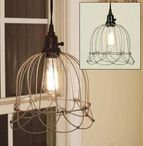 Small Wire Bell Pendant Light makes a wonderful accessory to any room!