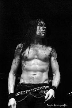 Frost aka Kjetil-Vidar Haraldstad of Satyricon (NOR)  A Great Drummer