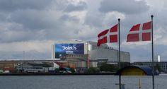 Die B+W Hallerne in Kopenhagen. Austragungsort des 59. Eurovision Song Contest.