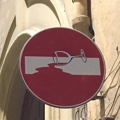 These Are The Coolest Road Signs We Have Ever Seen 25 Pictures Graffiti Art, Street Art Banksy, Graffiti Painting, Italy Street, Urbane Kunst, Wine Painting, Adventure Time Art, Street Signs, Art Design