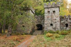 Granite castle, Aulanko, Hameenlinna, Finland