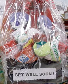 1000 images about unique gift baskets on pinterest for Unusual get well gifts