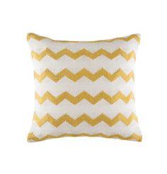 Cushion - 'Ziggy', White