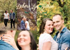 Debra and Nathan back Wedding Announcements, Utah, Collage, Weddings, Couple Photos, Couples, Couple Shots, Marriage Announcement, Collages