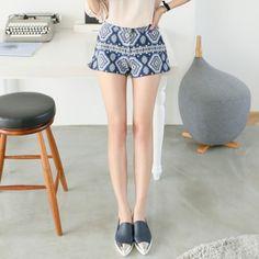 Ethnic Bending Shorts