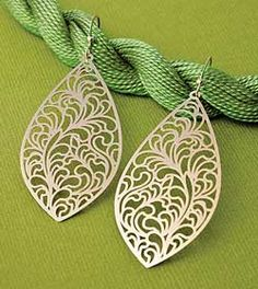 Browse Unique Jewelry & Accessories products for beautiful living at Isabella. Filigree Earrings, Pendant Earrings, Drop Earrings, Filigree Design, Jewelry Accessories, Unique Jewelry, All That Glitters, Thoughtful Gifts, Ear Piercings