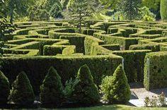 Labyrinth, VanDusen Botanical Garden Photo taken in Shaughnessy, Vancouver, BC, Canada