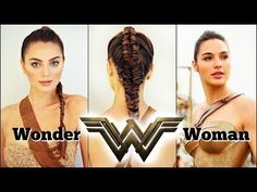It's Jackie & welcome back to another *Movie Magic* tutorial, where we are recreating Gal Gadot's WONDER WOMAN Makeup & Braided Ponytail in . Classy Hairstyles, Popular Hairstyles, Celebrity Hairstyles, Up Hairstyles, Hairdos, Updos, Wonder Woman Makeup, Wonder Woman Movie, Cute Makeup Hacks
