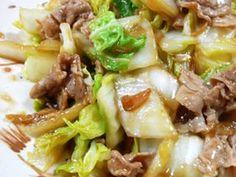 白菜&豚肉のしょうが炒めの画像