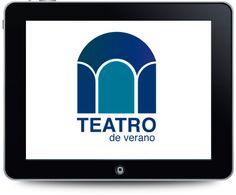 Diseño de logotipo para el Teatro de Verano.
