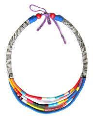 Resultado de imagem para diy african rope necklace