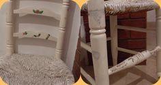 Tus Manos y las Mias: silla vintage. Parte uno Tusmanosylasmias recycled chair